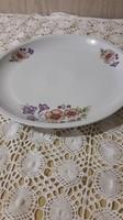 Alföldi tölcsérvirágos, kerek süteményes tál, tálaló, asztal közép