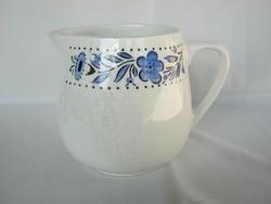 Gránit kerámia kék virágos kis kancsó kiöntő