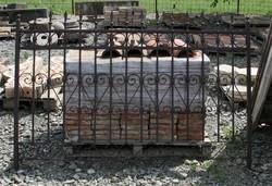 Kovácsolt vas kerítés elem