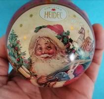 Fém gömb karácsonyfadísz