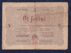 Szabadságharc 5 Forint bankjegy 1848 (id30025)