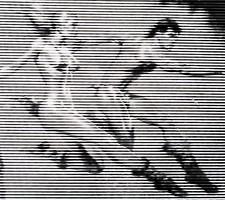 Lendület - egyedi technikával készült 3D kép