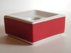 Arabia Finland skandináv design porcelán gyertyatartó