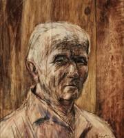 Ezüst György (1935-2017): Férfiportré