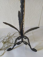 Csavart kovácsolt vas állólámpa állvány álló lámpa kovácsoltvas