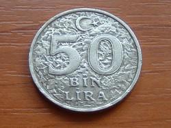 TÖRÖKORSZÁG 50 BIN (50.000) LÍRA 1998 #