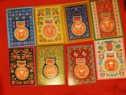 Retro képeslapcsomag a Szovjetunió volt,  tagállamaival postatiszta 15 db egyben a képek szerint
