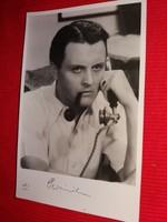 Antik 1942 Perényi László portrés képeslap gyönyörű gyűjtői állapotban