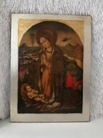 Olasz IKON táblakép/ szentkép