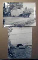 Sajtófotók, IFA ritkább szerelvénnyel, baleset, '70-es évek
