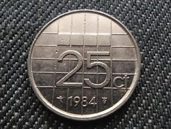 Hollandia Beatrix (1980-2013) 25 Cent 1984 (id30975)