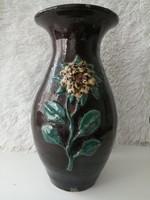 Napraforgós kerámia váza (32,5 cm)
