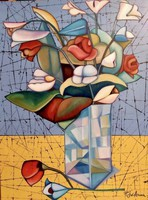 Pálfy Julianna: Virágok vázában