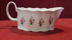 Különleges barokkos porcelán szószos, mártásos 273.