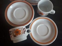 Alföldi Kávés csésze szettek 5 db
