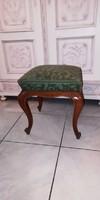 Barokk chippendale ülőke , szék