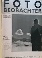 FOTO BEOBACHTER  -RITKA FOTÓS FOLYÓIRAT 1937 - TELJES ÉVFOLYAM