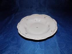 Zsolnay porcelán tollszármintás mélytányér 23,5 cm (2p)