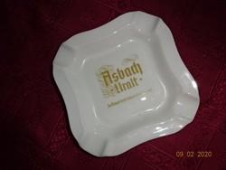 ASBACH URALT német porcelán gyönyörű hamutál. 15 x 15 cm.