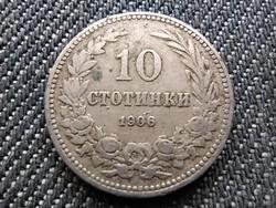 Bulgária I. Ferdinánd (1887-1918) 10 Stotinki 1906 (id30490)