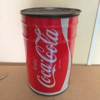 Nagyméretű Coca-Cola fém tároló doboz