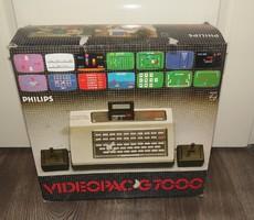 Régi retro Philips Videopac Computer G7000 Konsol játékgép ritka!!
