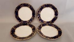 Zsolnay Pompadour I. süteményes, desszertes tányér 4 db