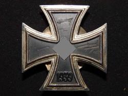 Német 2. VH Vaskereszt Iron Cross / Eisernes Kreuz EK1 - Friedrich Orth nem mágneses darab