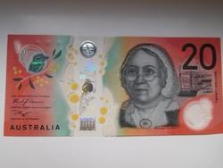 Ausztrália 20 dollár 2019 UNC Polymer Új!