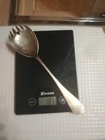 Nagyméretű ezüst salátás kanál 103 gr