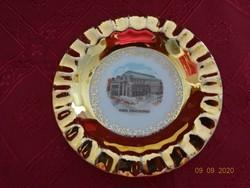 EGRO Wien német porcelán hamutál, átmérője 11,5 cm. Wien, Staatsoper.