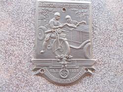 WW2,Német motoros jelvény