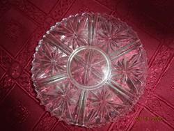 Üveg teáscsésze alátét, átmérője 13,5 cm.