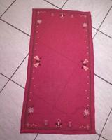 Keresztszemes karácsonyi terítő 92x48 cm