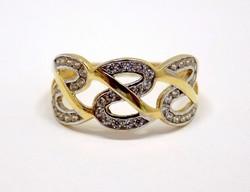 Köves arany gyűrű (ZAL-Au92038)