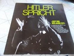 WW2,Lemez,Hitler sprecht,1933.