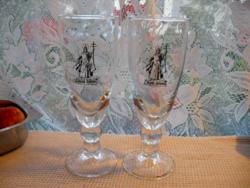Szent István pezsgős pohár pár