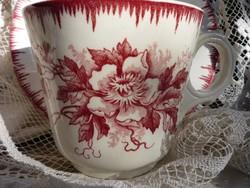 Antik, fajansz csésze