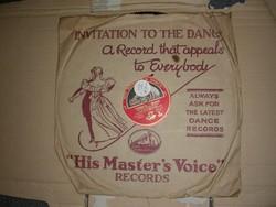 H.M.V. gramofon nagylemez