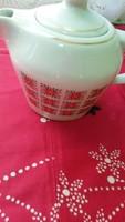 Hollóházi porcelán kávékiöntő