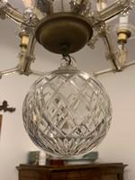 Eredeti Mária Terézia korabeli ólom kristály csillár eladó