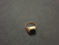Onix kővel díszített pecsétgyűrű ELADÓ