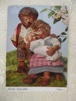 Igel Mecki NDK sün képeslap