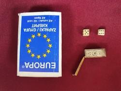 Miniatűr dobókocka készlet