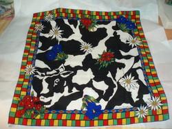 Vintage Christian Fischbacher selyemkendő