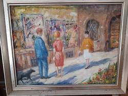 Csodálatos Frank Frigyes Festmény