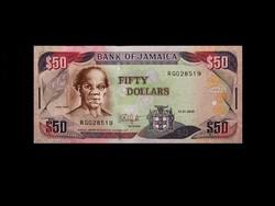 UNC - 50 DOLLÁR - JAMAIKA 2010 - (Új aláírással!)