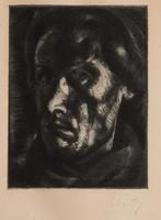 Uitz Béla (1892-1944): Önarckép.