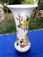 Hollóházi Hortenzia óriás váza