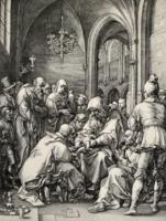 Hendrick Goltzius: The Circumcision / A körülmetélés (1889-ben készített nyomat)
